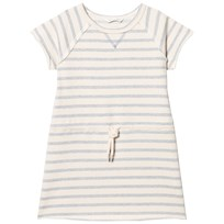 eBBe Kids Sally Sweat Dress Blue Fog Stripes Blue fog stripe