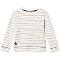 eBBe Kids Sullivan Sweater Blue Fog Stripes Blue fog stripe