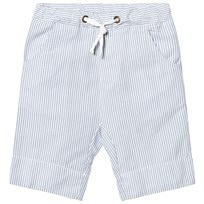 eBBe Kids Joel Low Crotch Shorts Off White/Blue Stripes Offwhite/Blue stripe