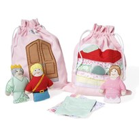 oskar&ellen Story Bag The Princess And The Pea Multi