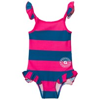 Geggamoja Swim Suit Marin Strong Pink Marin/Strong Pink