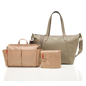 Image of Storksak Noa Changing Bag Leather Clay (2743774177)
