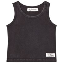 I Dig Denim Levi Singlet Top Black Dark grey