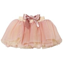 DOLLY by Le Petit Tom Fairy Tutu Cream Dusty Pink Cream Dusty Pink