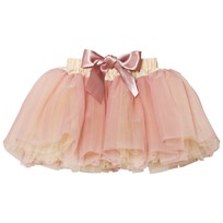 DOLLY by Le Petit Tom Fairy Ballerina Kjol Cream/Dusty Pink Cream Dusty Pink