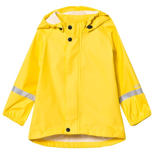 Reima Lampi Raincoat Yellow Yellow