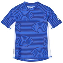 Reima Fiji Swim Shirt Blue Blue