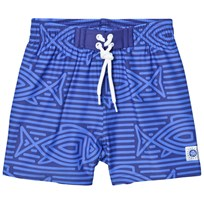Reima Biitzi Swimming Trunks Blue Blue