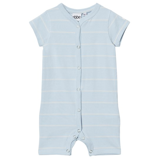 ebbe Kids Engel Romper Pale Sky/Off White Stripes Pale sky/offwhite stripe