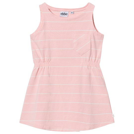 ebbe Kids Ellis Dress Powder Pink/Off White Stripes Powder pink/offwhite stripe