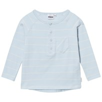 eBBe Kids Efron Grandpa Tee Pale Sky/Off White Stripes Pale sky/offwhite stripe