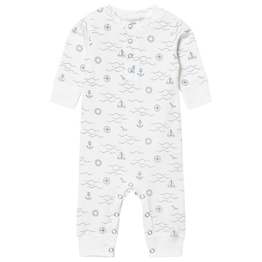ebbe Kids Malm One-Piece Navy Waves Navy waves