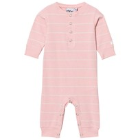 eBBe Kids Edmond One-Piece Powder Pink/Off White Stripes Powder pink/offwhite stripe