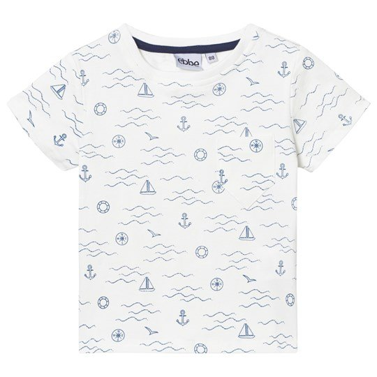 ebbe Kids Marcin T-shirt Navy Waves Navy waves