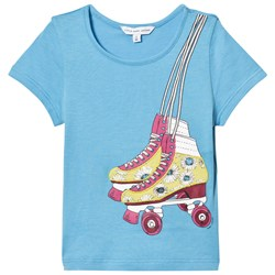 The Marc Jacobs Blue Rollerboot Print Tee