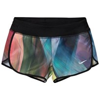 NIKE Multi Print Rival Running Shorts BARELY VOLT/BLACK