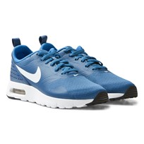 NIKE Blue Air Max Tavas Junior Trainers INDUSTRIAL BLUE/WHITE-PHOTO BLUE-BLACK