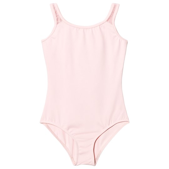 Bloch Pink Glitter Bow Back Aeon Leotard Candy Pink
