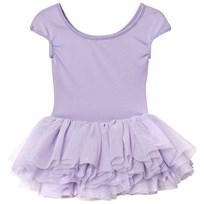 Bloch Lilac Heart Mesh Back Tutu Leotard Lilac