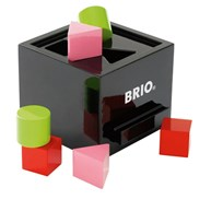 BRIO Sorterings Box Black