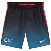 NIKE Navy CR7 Squad Shorts INDUSTRIAL BLUE/METALLIC SILVER