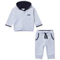 BOSS Pale Blue Branded Tracksuit J71