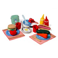 oskar&ellen Cooking Set Orange