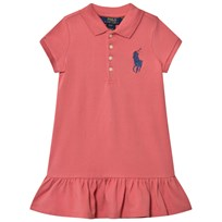Ralph Lauren Pink Big Pony Polo Dress 002