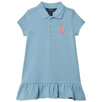 Ralph Lauren Blue Big Pony Polo Dress 003