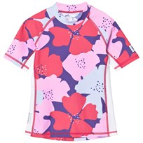 Reima Fiji Swim Shirt Strawberry Red Strawberry red