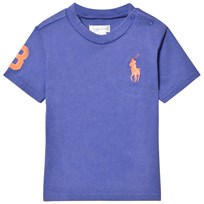 Ralph Lauren Blue Big Pony Tee 001