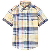 Ralph Lauren Yellow Madras Check Shirt 001