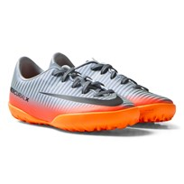 NIKE Mercurial X Victory VI CR7 Turf Football Boots COOL GREY/MTLC HEMATITE-WOLF GREY