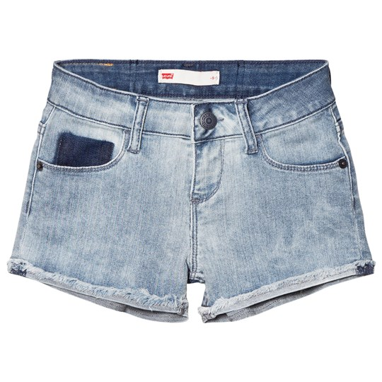 Levis Kids Light Wash Denim Shorts 46