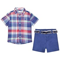 Ralph Lauren Shirt, Belt & Short Set Multi 001