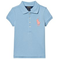 Ralph Lauren Blue Big Pony Pique Polo 003