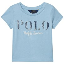 Ralph Lauren Blue Polo Applique Tee 001