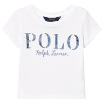 Ralph Lauren White Polo Applique Tee 002