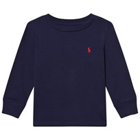 Ralph Lauren Navy Long Sleeve Tee 002