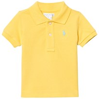 Ralph Lauren Yellow Pique Polo 003