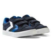 Hummel Stadil Canvas Low Jr Total Eclipse Total Eclipse
