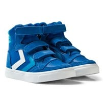 Hummel Stadil Leather High Jr Sneakers Imperial Blue IMPERIAL BLUE