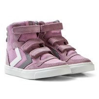 Hummel Stadil Canvas High Jr Sneakers Orchid Hace Orchid Hace
