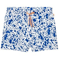 Tinycottons Enamel Shorts Off White/Blue White