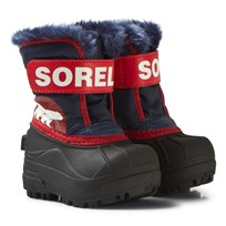 Sorel Snow Commander Sail Red Navy