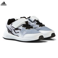 adidas Black and White Infants Star Wars Trainers CORE BLACK