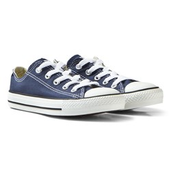 Converse Navy Chuck Taylor All Star Low Tops