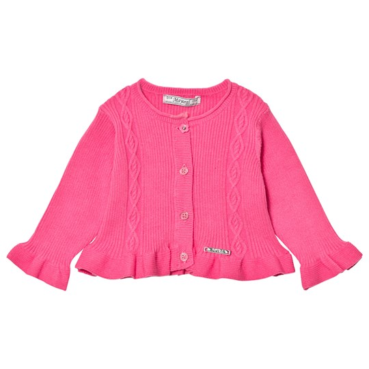 Mayoral Pink Cable Knit Jumper 55