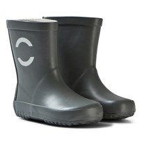 Mikk-Line Basic Wellies Steel Grey Steel Gray