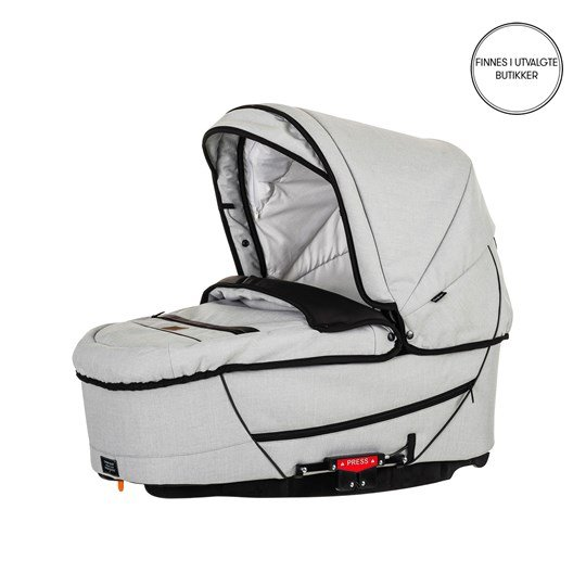 Emmaljunga City Carrycot Supreme Lounge Pure 2017 Grå